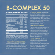 Vitamin Discount Center B-Complex 50mg, 100 Capsules 50 Mg