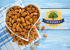 Chipotle Lime Almonds (16oz) Steam Pasteurized Roasted Almonds from the Sohnrey Family Farm (16oz) 16 Ounce