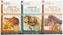 Urban Accents All Natural Gluten Free Grilling And Roasting DryGlaze 3 Flavor Variety Bundle: (1) Urban Accents Vermont Grill Maple & Spicy DryGlaze, (1) Urban Accents Athenian Herb Honey, Thyme & Sun-Dried Tomato DryGlaze, and (1) Urban Accents Santa ...
