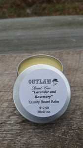 """Lavender and Rosemary"" Beard Balm - Outlaw Beard Care"