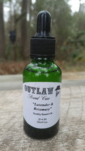 """Lavender and Rosemary"" Beard Oil - Outlaw Beard Care"