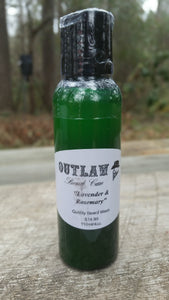 """Lavender and Rosemary"" Beard Wash - Outlaw Beard Care"