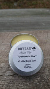 """Peppermint Tree"" Beard Balm - Outlaw Beard Care"