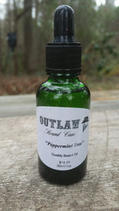 """Peppermint Tree"" Beard Oil - Outlaw Beard Care"