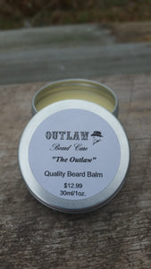 """The Outlaw"" Beard Balm - Outlaw Beard Care"
