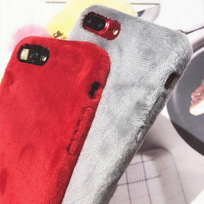 huge discount d808e 0e60f Fuzzy Case for iPhone 8/8 Plus