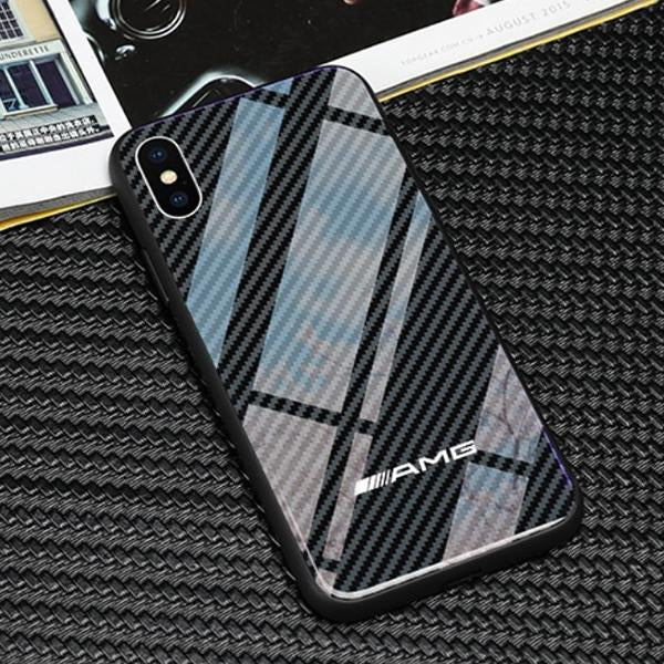 los angeles 8b981 e6e30 Carbon Fiber AMG Case for iPhone XS & XS Max