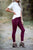 Haven | Colored Jeans | Burgundy