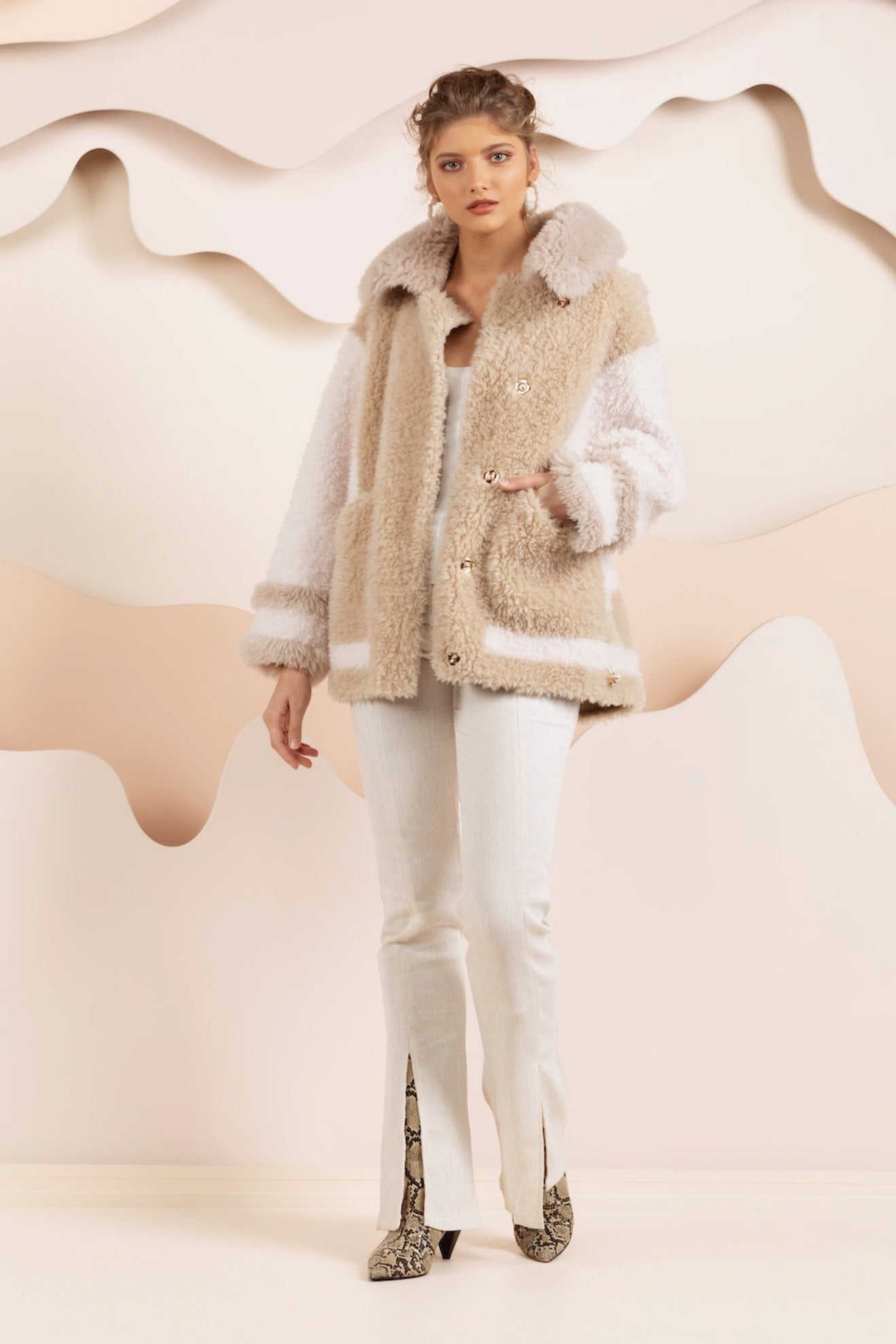 Ellie Teddy Coat