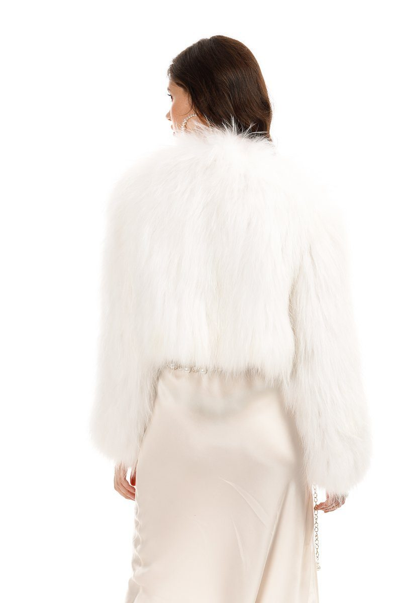 Vienna White Fur Jacket