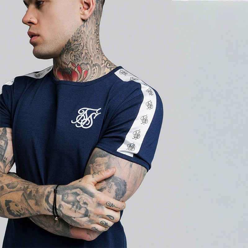 Summer SikSilk Male T Shirt