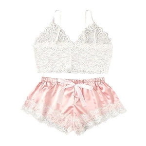 Women Bra Set Ladies Sexy Lace Comfortable Polyester