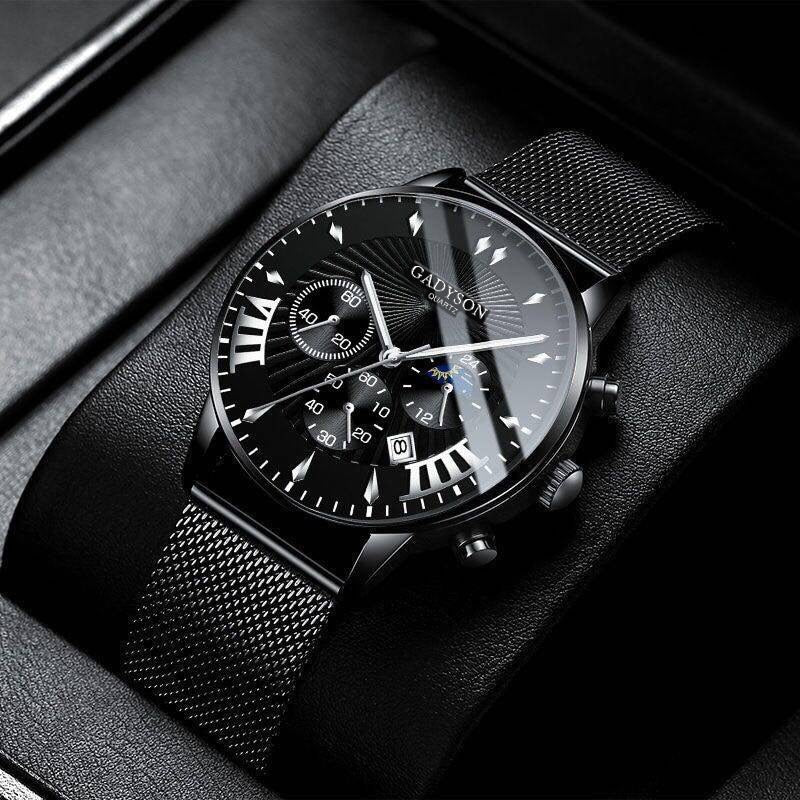 Watches Luxury Famous Brand Men Stainless Steel