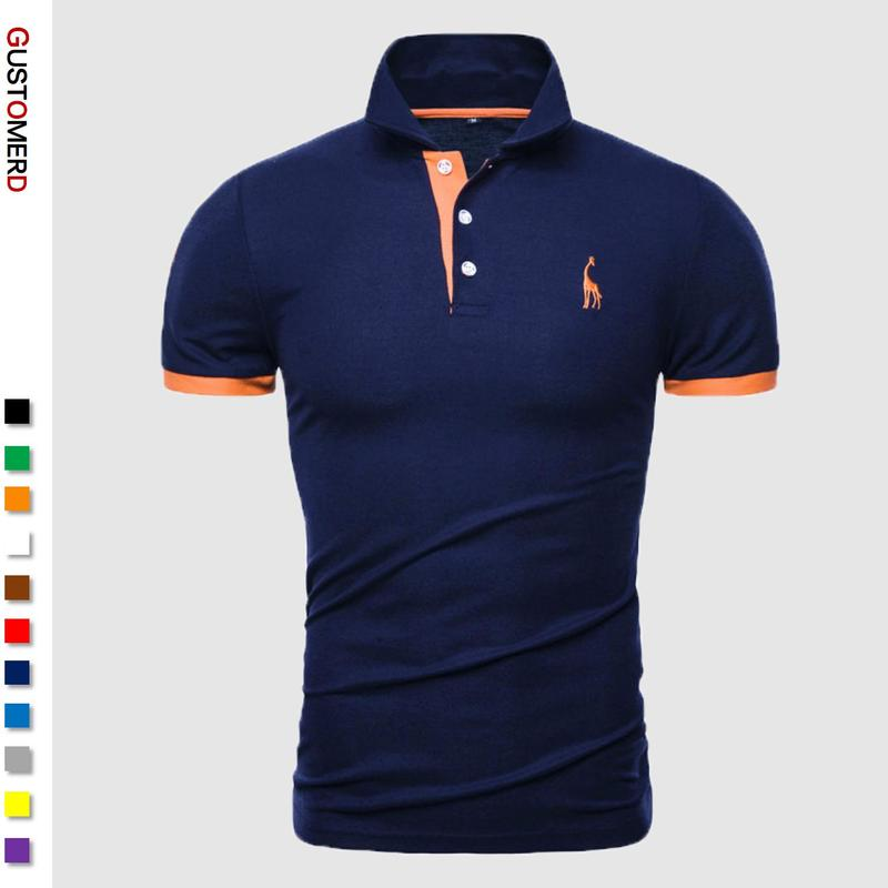 13 Colors Brand Quality Cotton Polos Men