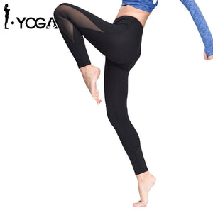 Leggings For Women Yoga Sport Pants Women Sports Gym Tights Woman Sportswear Leggings Sports Fitness Slim Mesh Yoga Pants