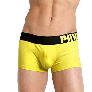 PINK HEROES Boxer Mens 2018 Underpants Knickers Sexy Shorts Underwear Breathable Men Cotton Pants