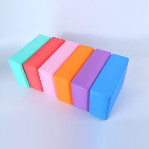 New Arrival EVA Thicken Yoga Block Brick Sports Exercise