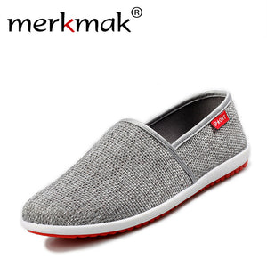 New Breathable Men Hemp Summer Style Loafers