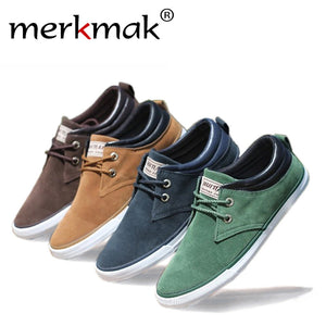 New 2017 Top Fashion brand men Flat Shoes Canvas men's flats shoes men,Daily casual shoes Spring Autumn suede men shoes LS083