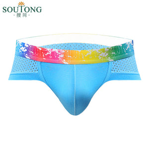 Mens Sexy Cotton Underwear shorts men boxers underpants Soft Briefs