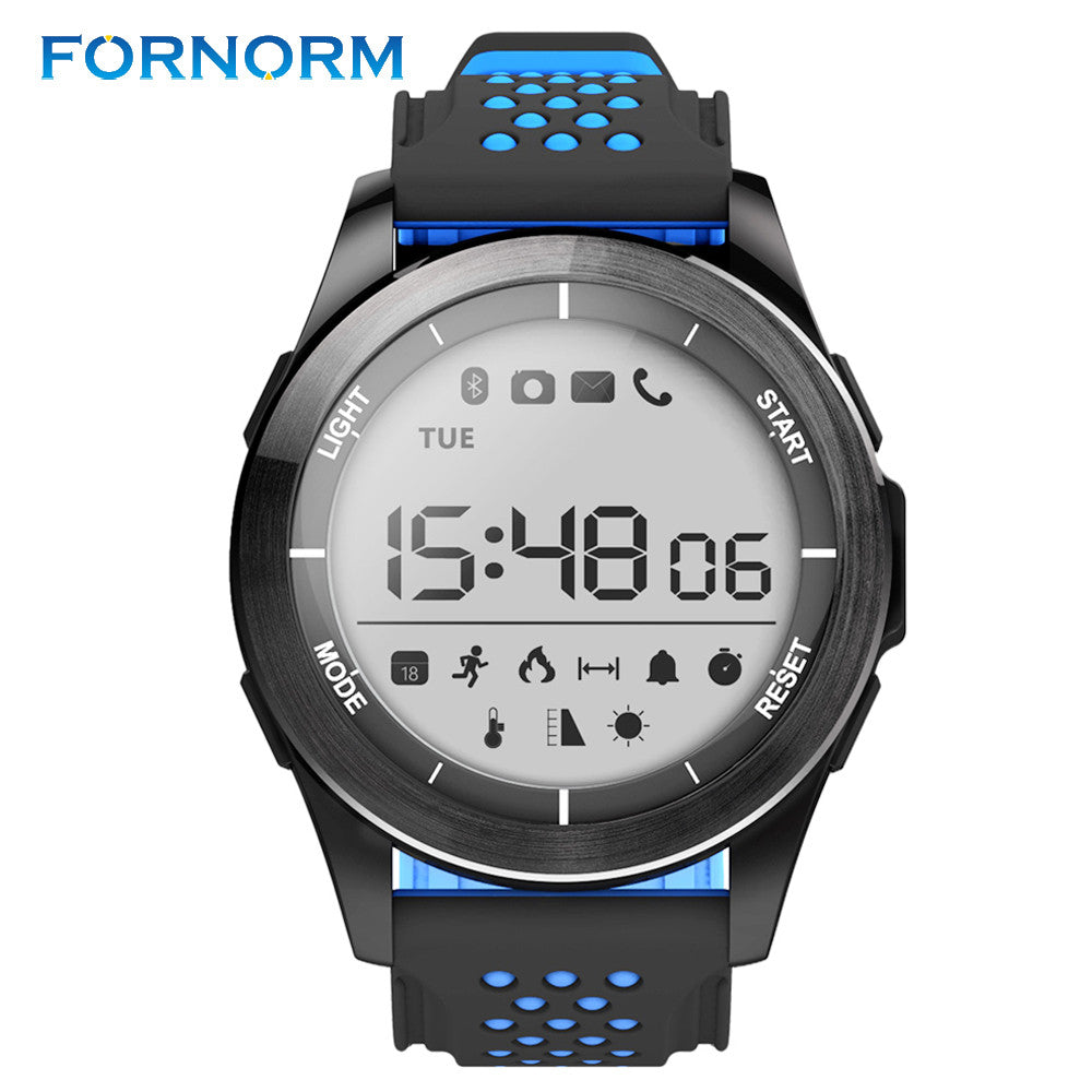 fORNORM F3 Bluetooth Smart Bracelet Waterproof IP68 Outdoor Mode Sport Watch Fitness Tracker Wearable Information Reminder