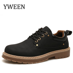 YWEEN Men Shoes New 2018 Spring Casual Shoes Man Oxford Shoes Breathable pu Leather Waterproof Shoes Men