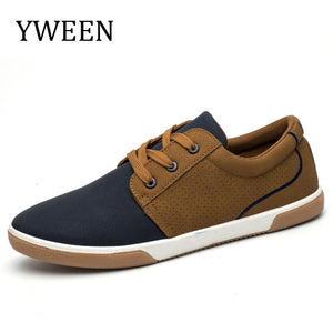 YWEEN Men Casual Shoes 2018 Spring Autumn Lace up Breathable Sneakers Men's Shoes