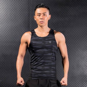 Man Workout Fitness Sports Gym Running Yoga Athletic Shirt Top Blouse Tank Vest