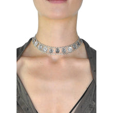 Hannah Coin Choker Necklace