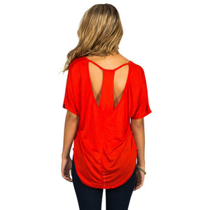 Layered Back Top