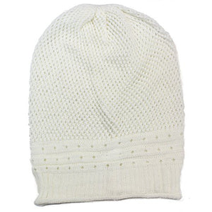 Net Crochet Lightweight Beanie Hat
