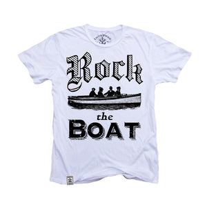 Rock the Boat: Organic Fine Jersey Short Sleeve T-Shirt