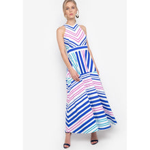 Soleil Stripe Maxi Dress