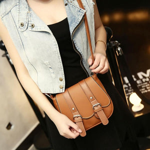 Handbags Fashion Women Shoulder Bgs Retro Crossbody Women Leather Tote Handbag Satchel Messenger Bag bolsa feminina para mujer