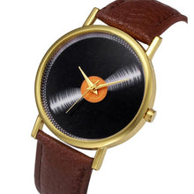 2016 New Fashion watches women Women Faux Leather Analog Quartz Wrist Watch  relojes mujer woman watch dames horloges #719