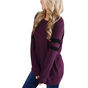 Womens Sexy Long Sleeve Solid Bandge Backless Tops Blouse