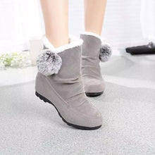 Women Fashion Ankle Boots Flats Casual Shoes Warm Suede Shoes Comfortable