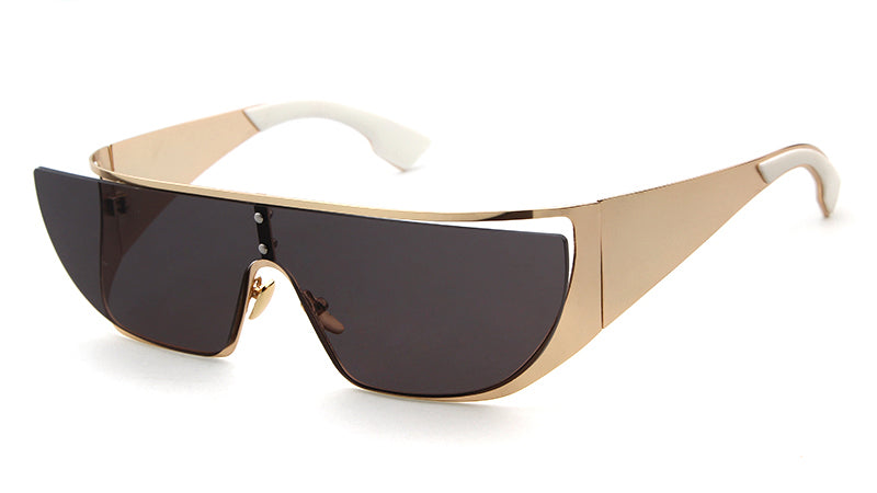EMILY Sunnies - Black + Gold