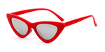 LOLITA Sunnies - Red + Mirrorized Glass