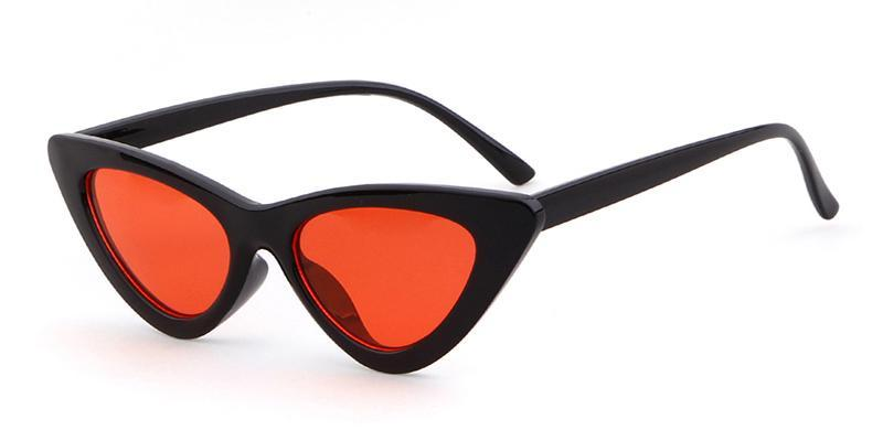 LOLITA Sunnies - Black + Red
