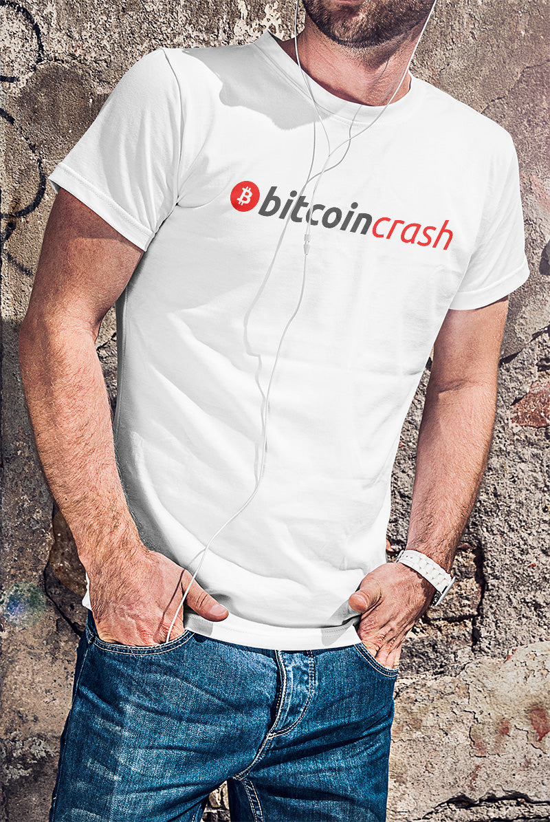 BitcoinCrash T-Shirt - FUD Clothing Cryptocurrency Apparel