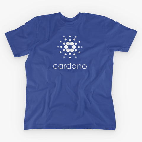 CARDANO T-SHIRT - FUD Clothing Cryptocurrency Apparel