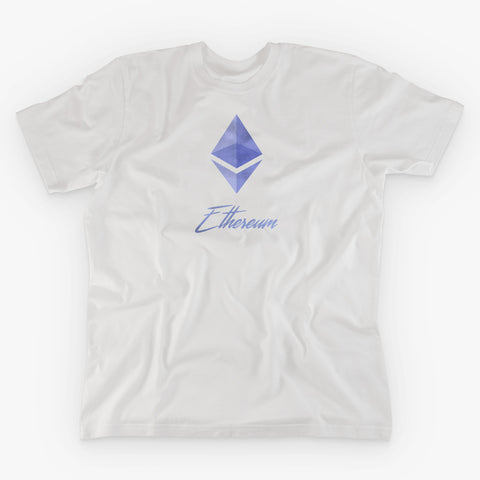 ETHEREUM SIGNATURE T-SHIRT - FUD Clothing Cryptocurrency Apparel