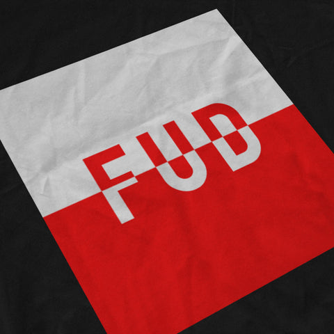 FUD SPLIT BOX TEE - FUD Clothing Cryptocurrency Apparel