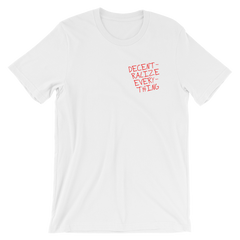 DECENT HEART T-SHIRT - FUD Clothing Cryptocurrency Apparel