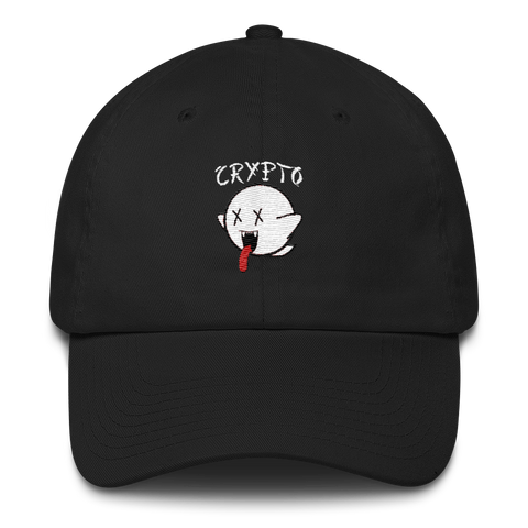 CRYPTO BOO DAD HAT - FUD Clothing Cryptocurrency Apparel
