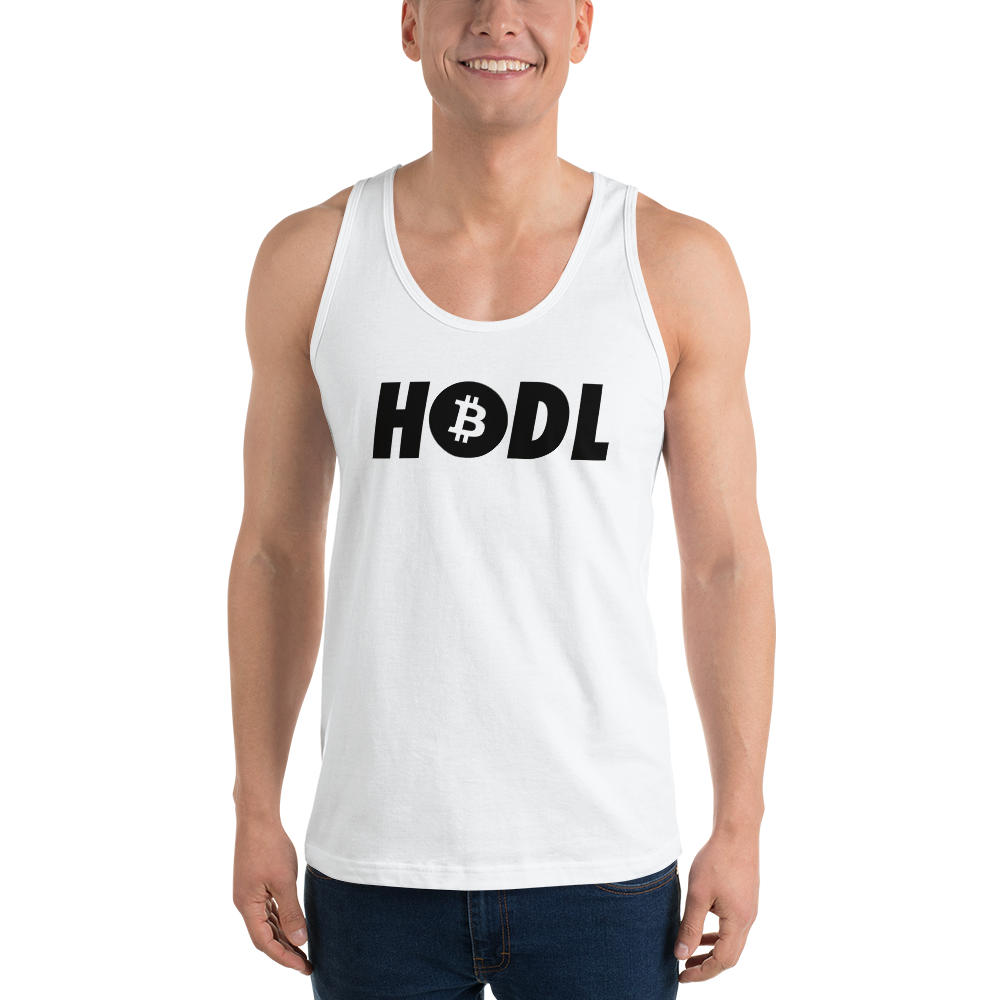 HODL · TANK TOP - FUD Clothing Cryptocurrency Apparel