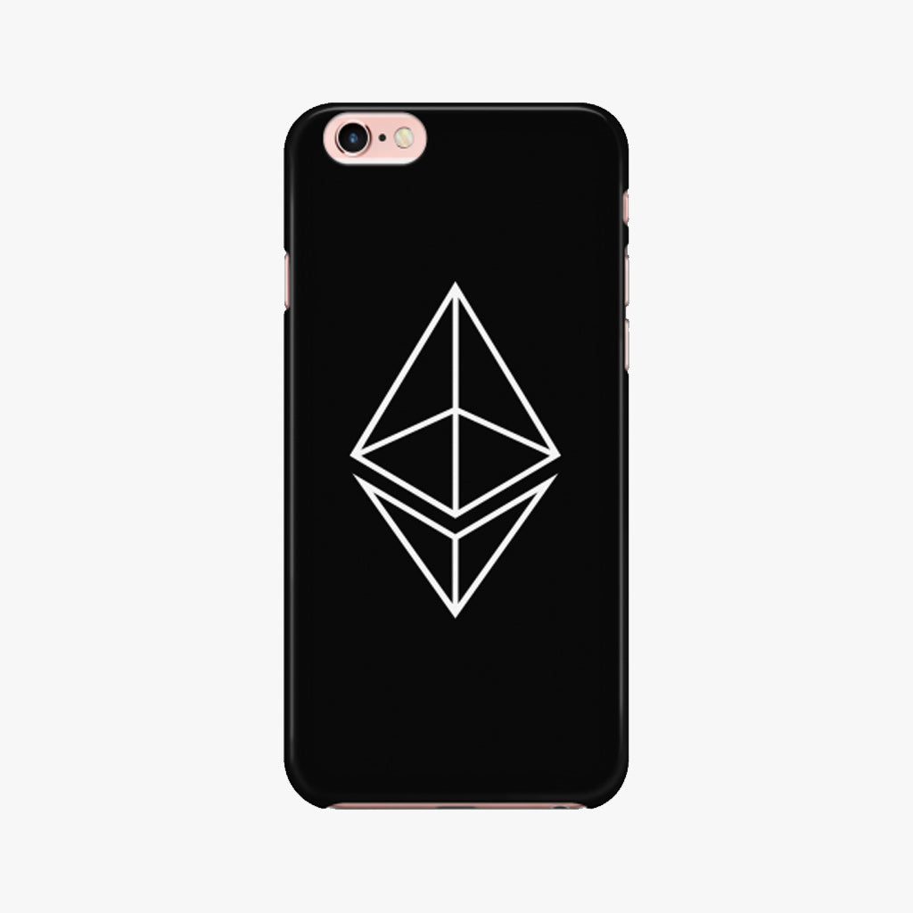 ETHEREUM HOLLOW LOGO PHONE CASE ·  iPhone 6/6s - FUD Clothing Cryptocurrency Apparel