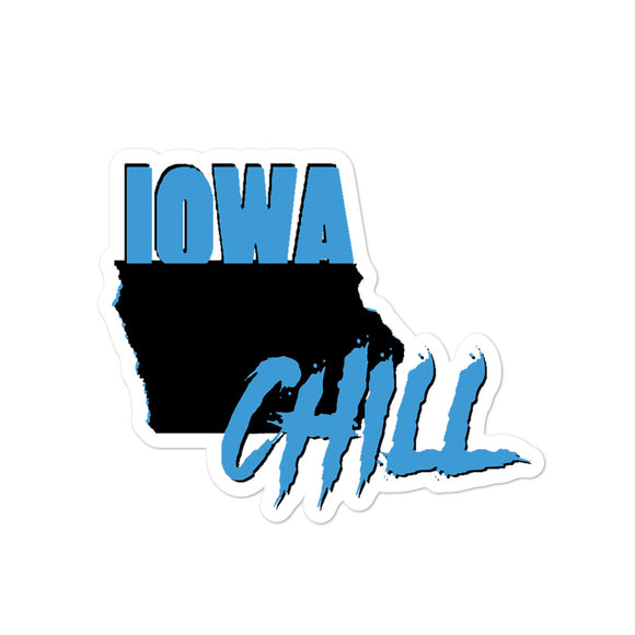 Iowa Chill Logo Stickers