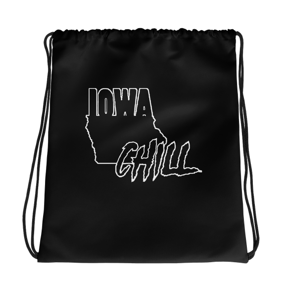 Ghost Mode Drawstring bag, , Accessories - Iowa Chill